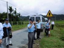 ベトナム、フエ省アロイ県の現地研修