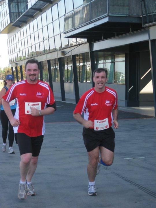 JDS Australia at the Australian Corporate Games 2010.