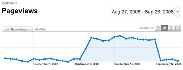 Google Analytics for the JDS website