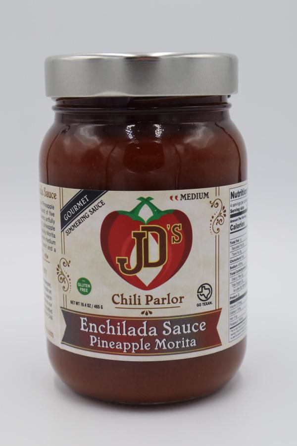 JD's Chili Parlor Pineapple Morita Enchilada Sauce