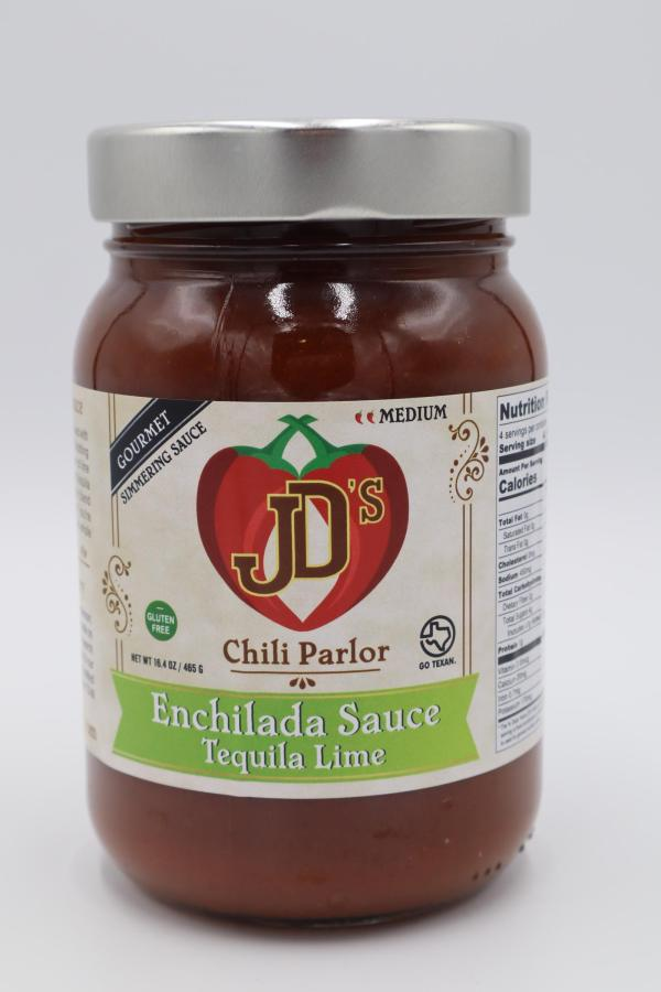 JD's Chili Parlor Tequila Lime Enchilada Sauce