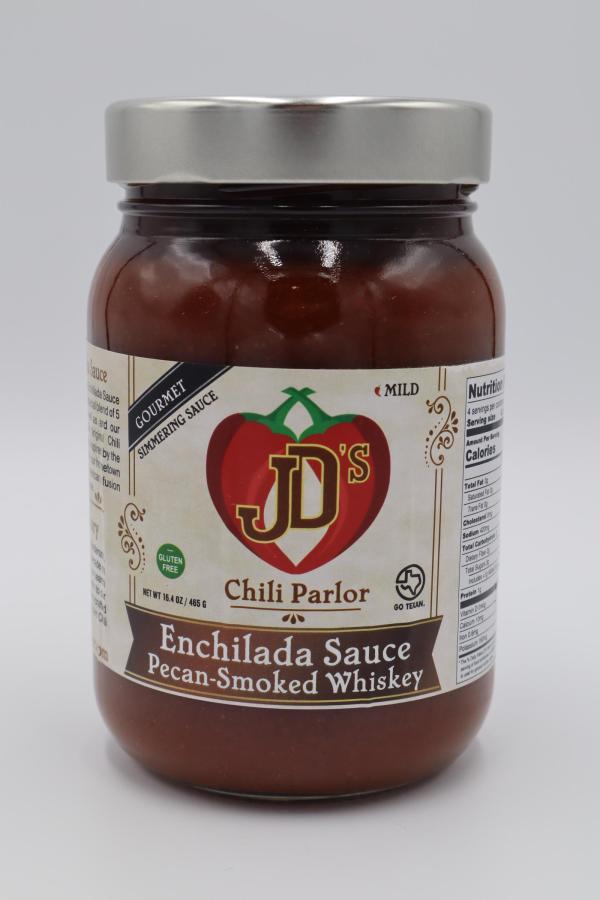 JD's Chili Parlor Pecan Smoked Whiskey Enchilada Sauce