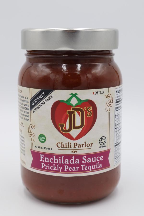 JD's Chili Parlor Prickly Pear Tequila Enchilada Sauce