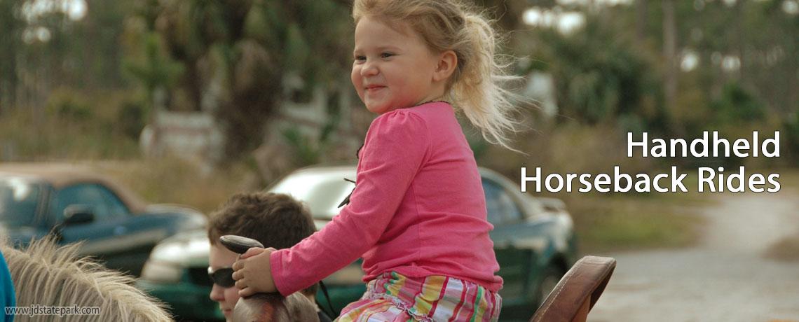 Handheld Horseback Rides   Jonathan Dickinson State Park, Hobe Sound, FL