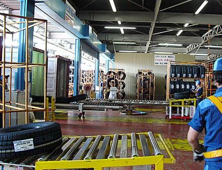 東洋ゴム工業仙台工場 東日本大震災からの復旧
