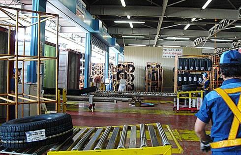 東洋ゴム仙台工場