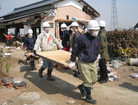 被災地支援で連携 ボランティア活動も