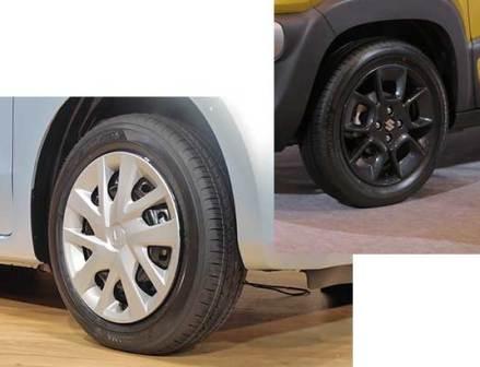 標準装着タイヤの大径化進む 車名別販売ランキングから