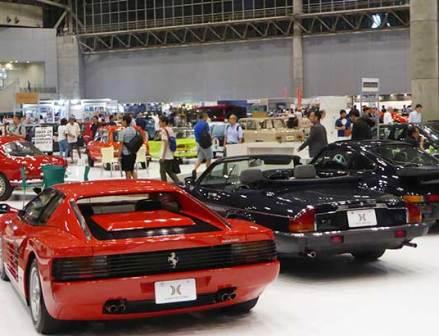 旧車の展示会開催 クラシックタイヤにも注目集まる