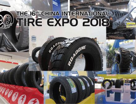 アジア最大級のタイヤ見本市「CITEXPO2018」上海で開催