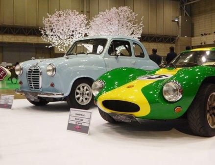 旧車の展示会「オートモビルカウンシル」横浜ゴムとミシュランが出展