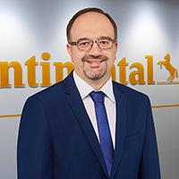 コンチネンタルタイヤ・ジャパンのニコラオス・キリアゾプロス代表取締役