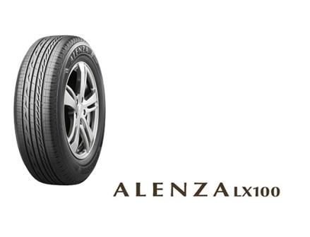 ブリヂストン SUV用タイヤに新モデル「ALENZA LX100」発売