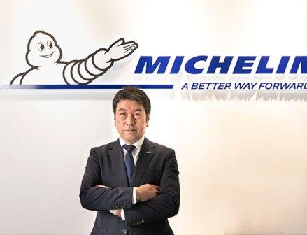日本ミシュランタイヤの須藤社長「将来、社会に認知される活動目指す」