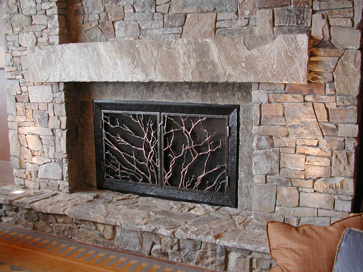 Fireplace Screens | J. Dub's Metalworks