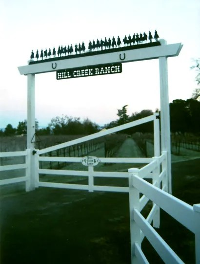 Ranch Sign - Hill Creek Ranch