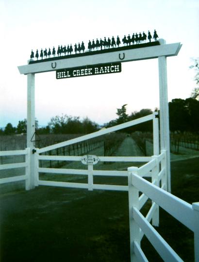 Ranch Sign - Hill Creek Ranch