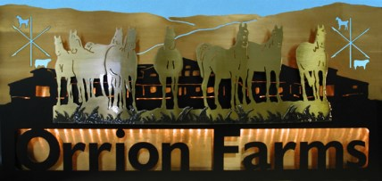 Ranch Sign - Orrion Farms