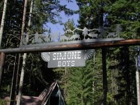 Ranch Sign - Simone Boys