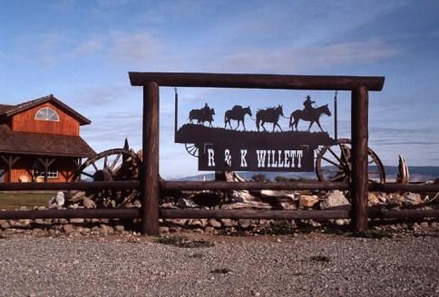 Ranch Sign - R & K Willet