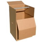 carton vêtement déménagement