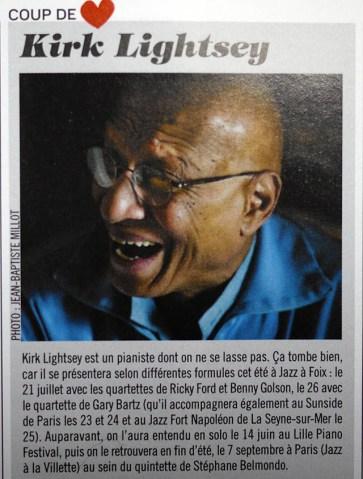 Kirk_Lightsey_Jazz_Mag_n°662_Juin 2014