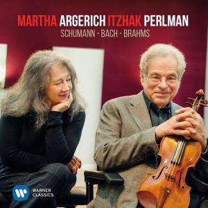 Portrait de Martha Argerich et Itzhak Perlman