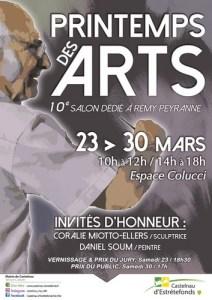 affiche Castelnau d'Estrétefonds 2019 affiche