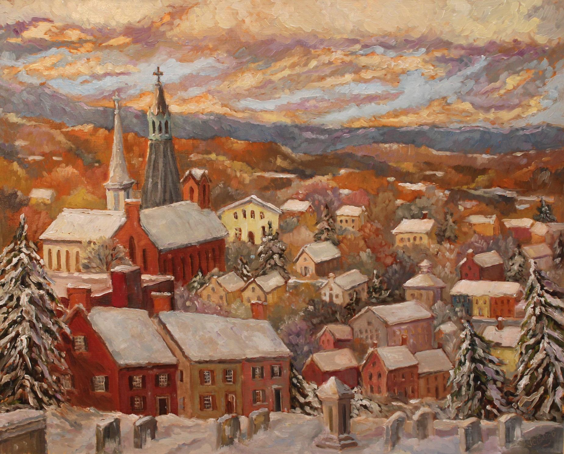 Lambertville Overlook 3 Winter