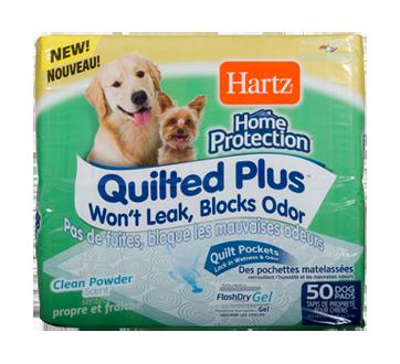 home protection tapis de proprete pour chiens quilted plus 50 unites