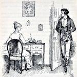 Elizabeth Bennet judging motives of Mr.Darcy