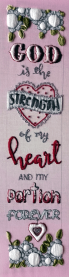 Embroider Scripture Psalm 73