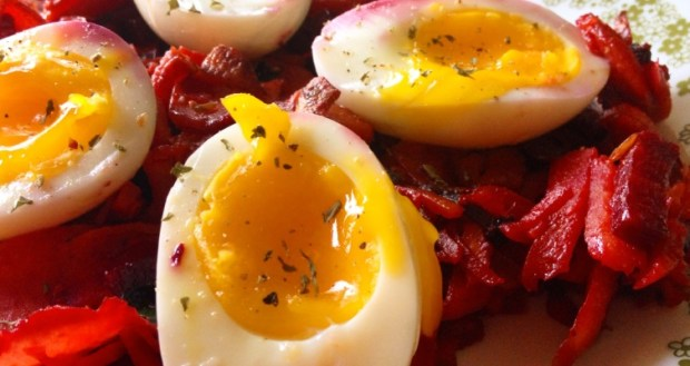 Root Vegetable Hash with Soft Boiled Eggs feature image