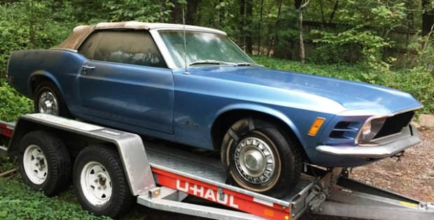 1970 ford mustang convertible 4