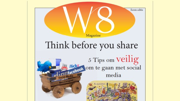 Cover W8-magazine