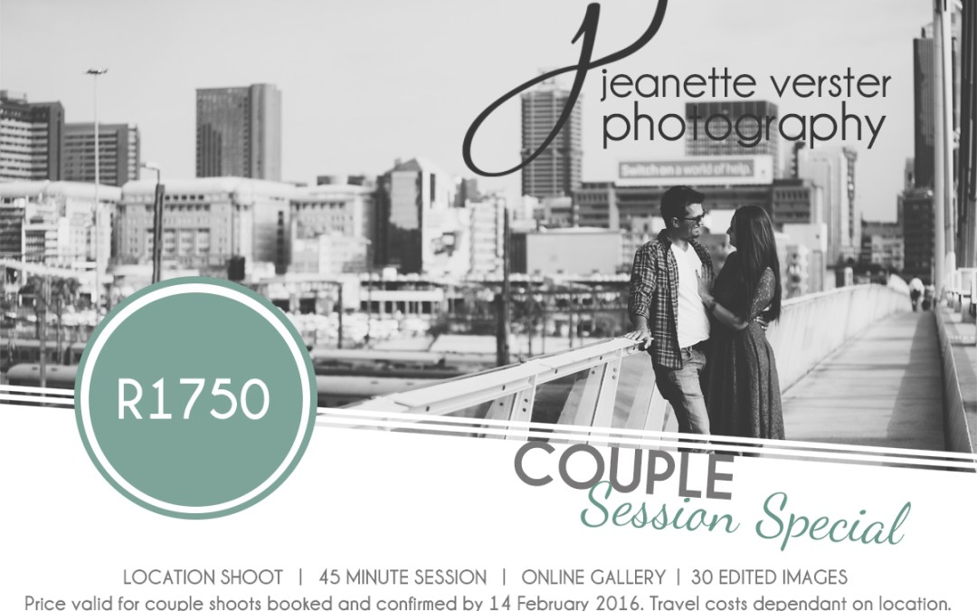 Couple photo session special