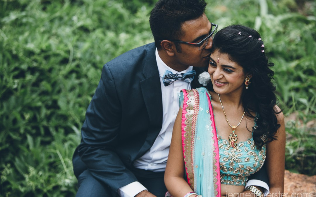 Pritesh and Komal's engagement photo session