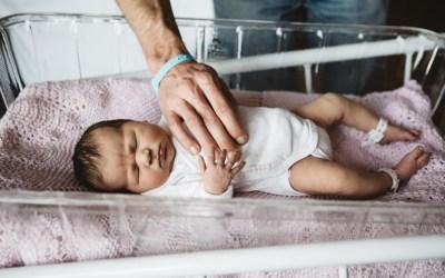 Emma's hospital newborn shoot at Park Lane