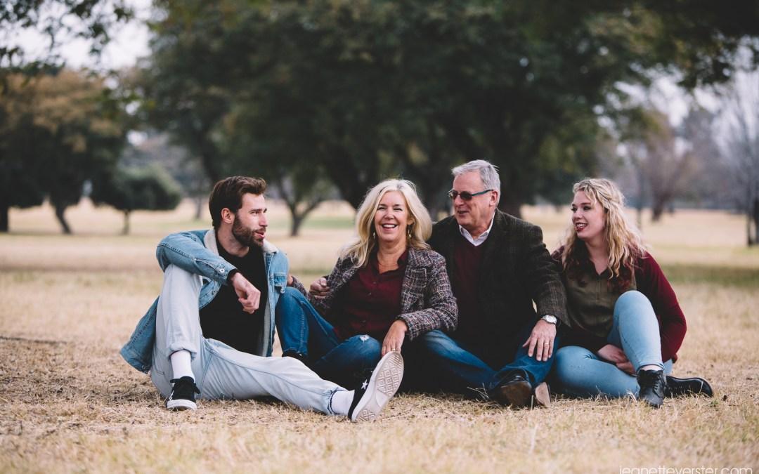 Hazell winter family photo session at Delta Park