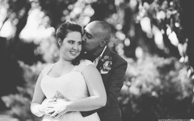Sherif and Leanne's intimate wedding