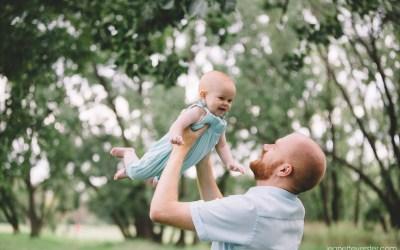 Morton family photoshoot at Delta Park