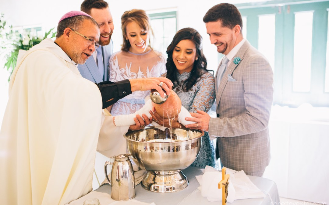 Mikael's christening at Casalinga