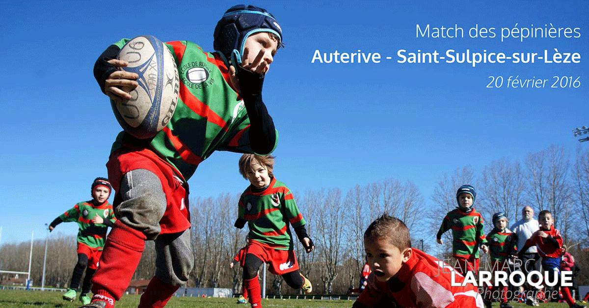 Match de Rugby Pépinière USSS Auterive - Photographie