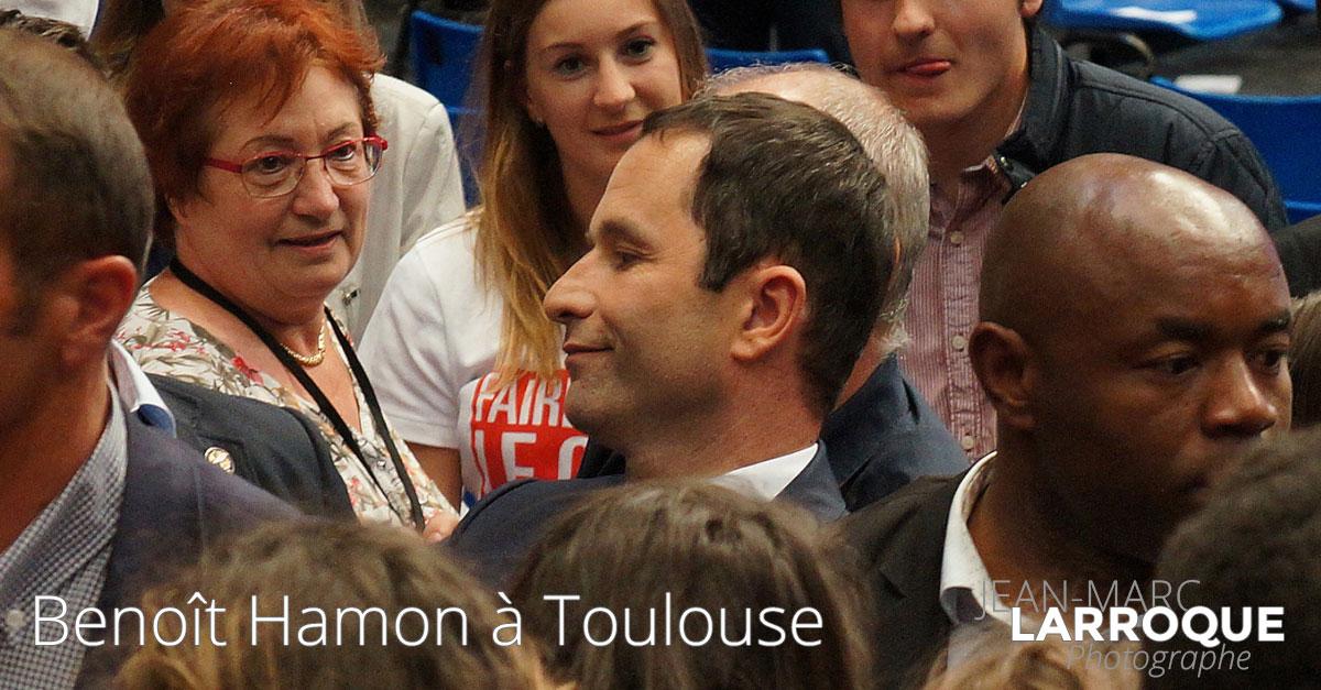 Meeting Benoît Hamon à Toulouse