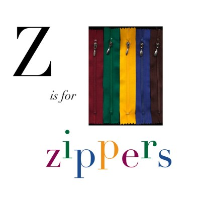 Z is for Zippers