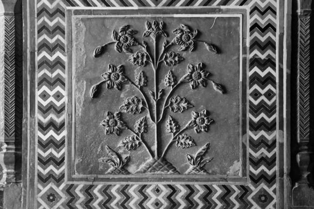 Floral Panel Detail