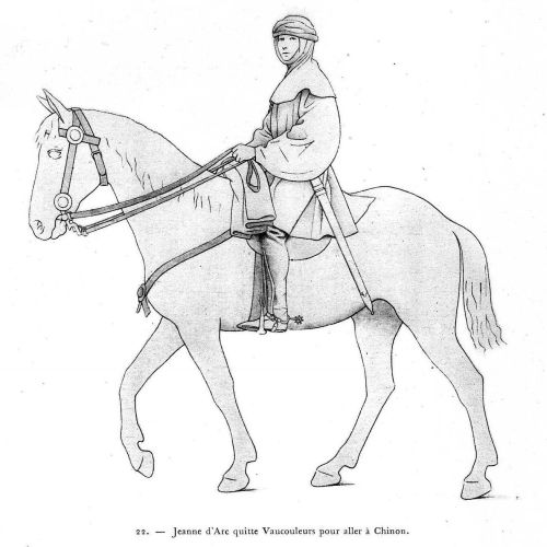 Joan of Arc (Jeanne d'Arc) clothing