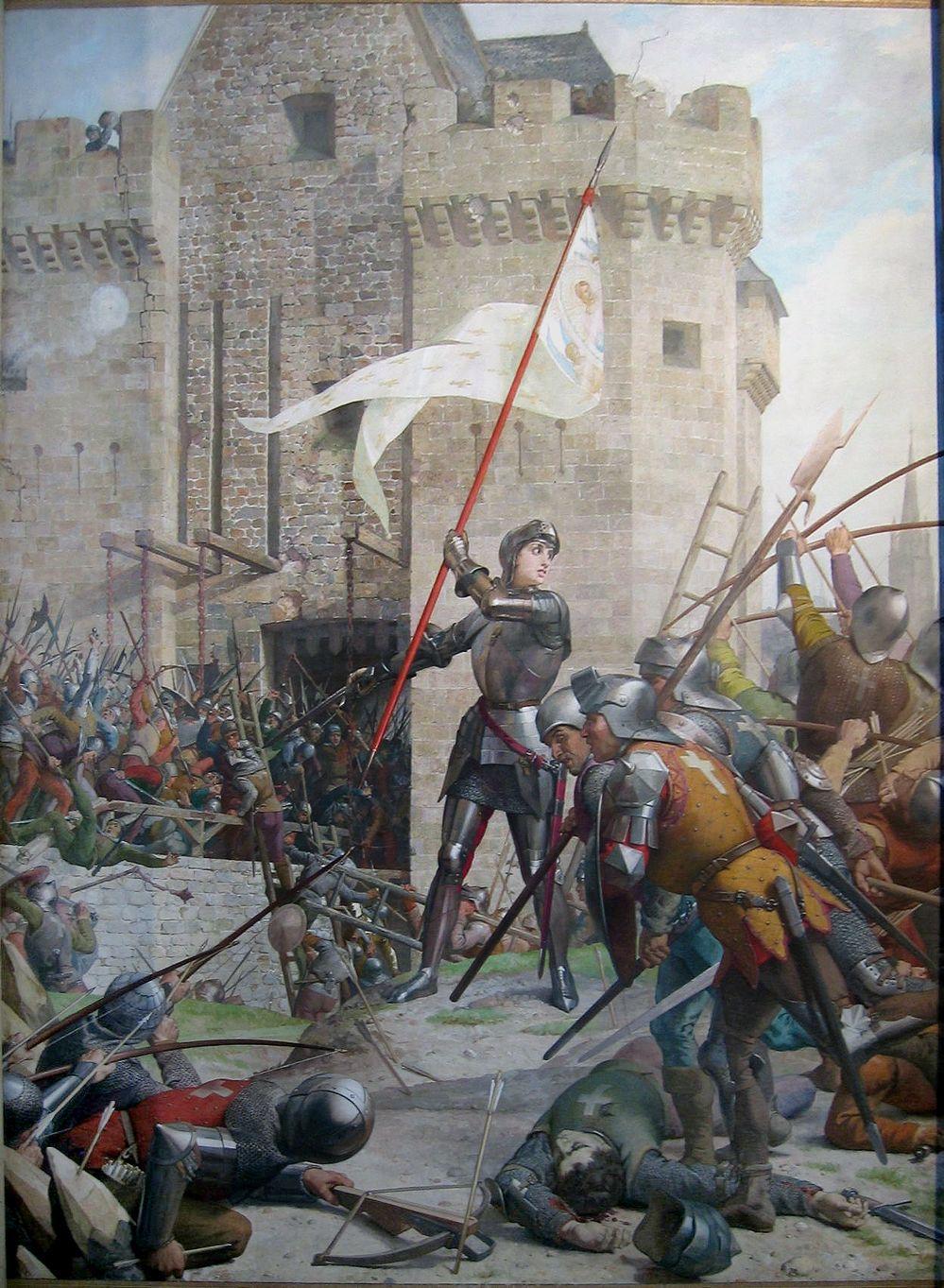 Joan of Arc - Jeanne d'Arc (1412 - 1431)