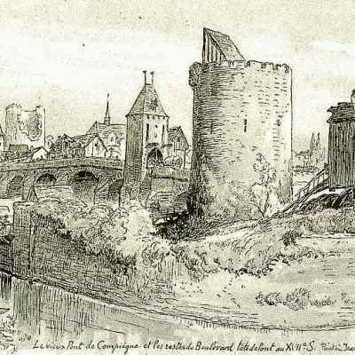 The Siege of Compiègne (1430) was the beginning of Jeanne's downfall and her final military action.