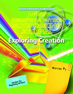 Junior Chemistry and Physics Notebooking Journal